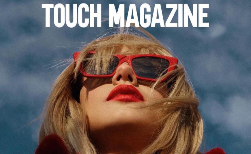 Cover Story Touch Magazine -Decembrie 2020- RED RIDING HOOD  feat. Feli